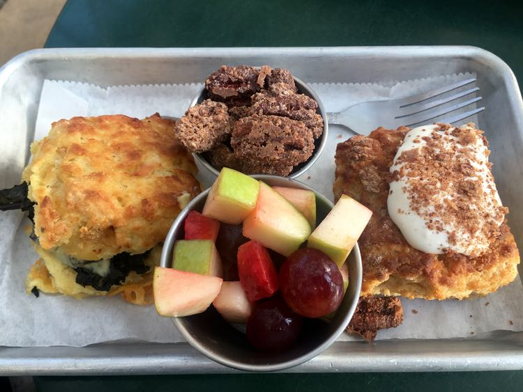 biscuits at Greenhouse on Porter, Ocean Springs