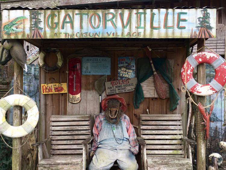 Louisiana souvenirs at The Cajun Village