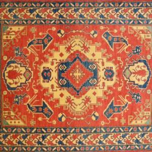 Mc158 6.3x8.4 Pak Kazak Phx Area Rugs