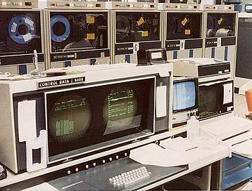 Control Console and Tape Drives