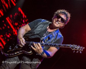 Neal Schon of Journey performing in Saint Louis