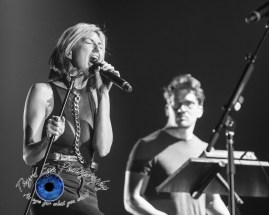Phantogram performing at the Peabody Opera House in Saint Louis pic by Sean Derrick/Thyrd Eye Photography.
