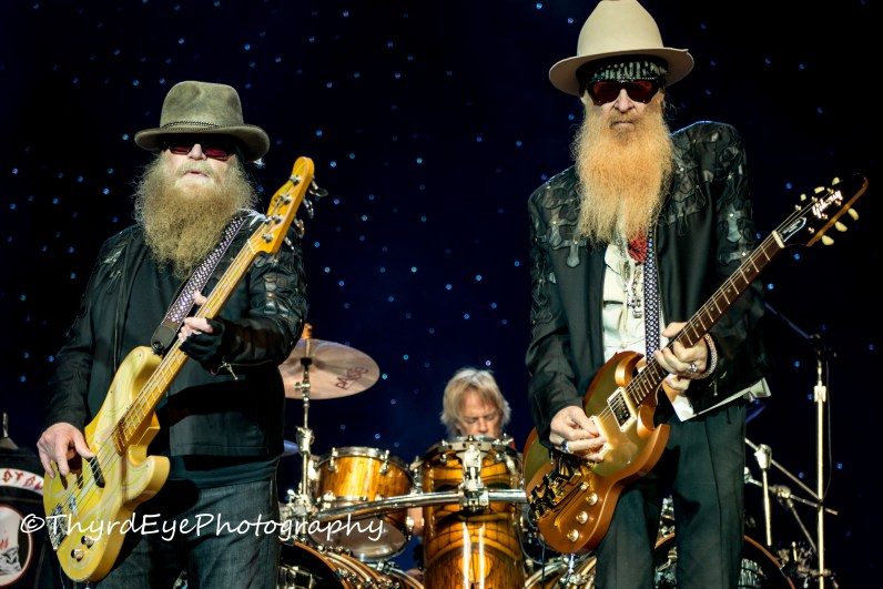 ZZ Top photo by Sean Derrick/Thyrd Eye Photography