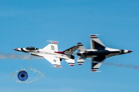 USAF Thunderbirds photo by Sean Derrick/Thyrd Eye Photography