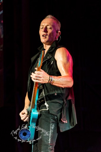 Phil Collen of Def Leppard. Photo by Sean Derrick/Thyrd Eye Photography