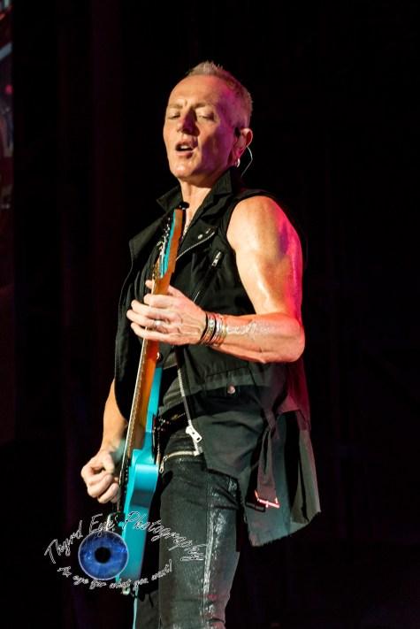 Phil Collen of Def Leppard. Photo by Sean Derrick/Thyrd Eye Photography