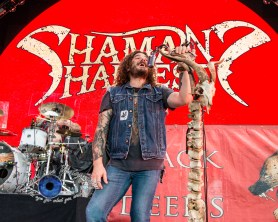 Shaman's Harvest performing at Hollywood Casino Amphitheatre in Saint Louis. Photo by Sean Derrick/Thyrd Eye Photography.