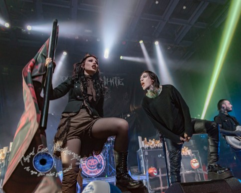 Motionless In White photo by Sean Derrick/Thyrd Eye Photography
