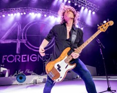 Jeff Pilson of Foreigner performing in Saint Louis. Pic by Sean Derrick/Thyrd Eye Photography