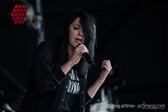 K Flay photo by Greg Artime.