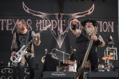 Texas Hippie Coalition performing at Moonstock 2017. Photo by Keith Brake Photography.