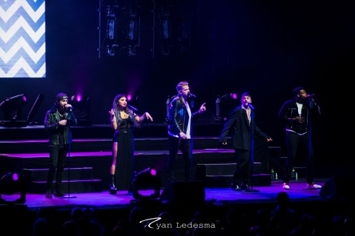 Pentatonix at the Fabulous Fox Theatre. Photo by Ryan Ledesma