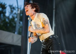 Cage the Elephant at Loufest photo by Greg Artime