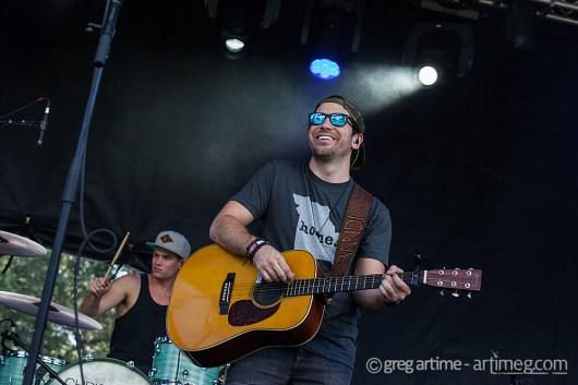 Chris Bandi at Loufest photo by Greg Artime
