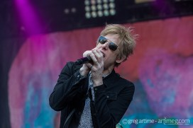 Spoon at Loufest photo by Greg Artime