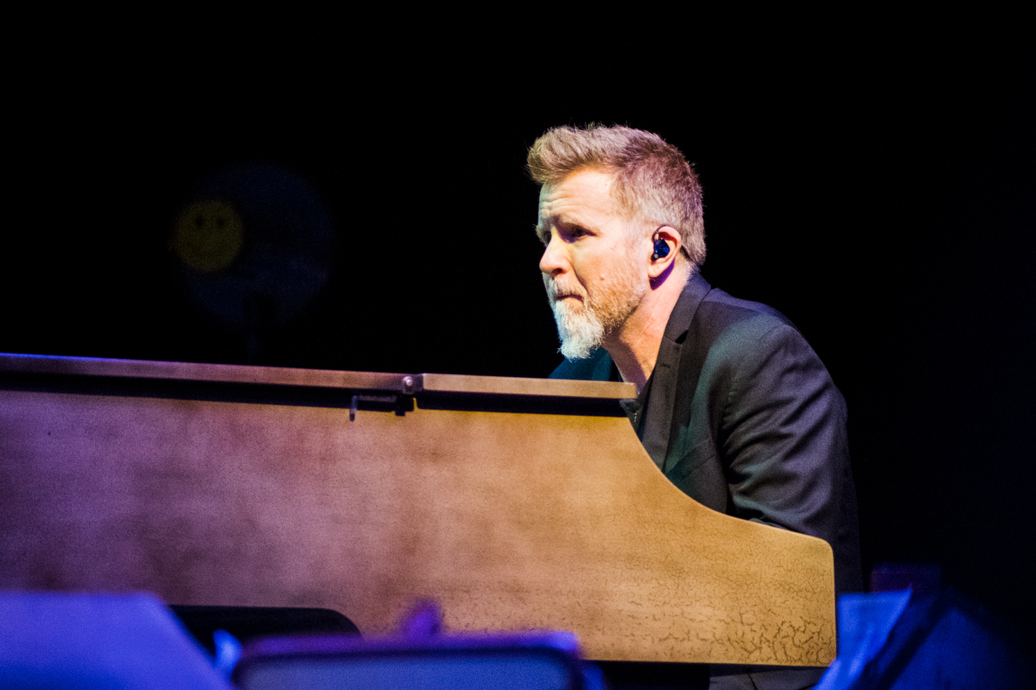 Pianist from Alison Krauss plays at the Peabody Opera House. Photo by Ryan Ledesma.