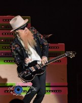 Billy Gibbons of ZZ Top performs at the KSHE 95 50th Birthday Party at Hollywood Casino Amphitheatre in Saint Louis Saturday. Photo by Sean Derrick/Thyrd Eye Photography.