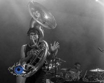 Lucky Chops performing at The Pageant in Saint Louis Wednesday. Photo by Sean Derrick/Thyrd Eye Photography.