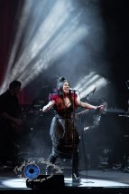 Amy Lee andEvanescence performing Sunday at Peabody Opera House in Saint Louis. Photo by Sean Derrick/Thyrd Eye Photography.