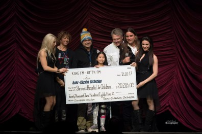 Trans-Siberian Orchestra donation at Scottrade Center Tuesday. Photo by Keith Brake Photography.