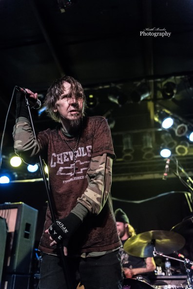 EyeHateGod performing a New Years Eve show by Saint Louis Sunday at Pop's. Photo by Keith Brake Photography.