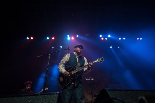 Ronnie Baker Brooks performing at The Pageant Friday. Photo by Keith Brake Photography.