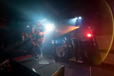 Silverstein performing at The Ready Room in Saint Louis. Photo by Keith Brake Photography.