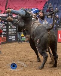Eduardo Aparecido competing in the PBR Saint Louis Invitational. Photo by Sean Derrick/Thyrd Eye Photography.