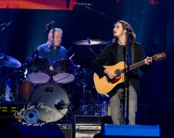 Don Henley and Deacon Frey of the Eagles performing at Scottrade Center in Saint Louis Sunday. Photo by Sean Derrick/Thyrd Eye Photography.