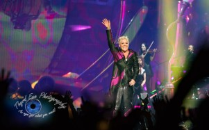 P!nk performing at Scottrade Center in Saint Louis Wednesday. Photo by Sean Derrick/Thyrd Eye Photography.