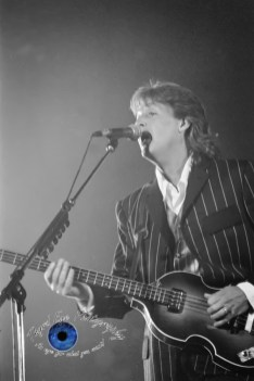 Paul McCartney performing at Busch Stadium in Saint Louis April 29, 1993. Photo by Sean Derrick/Thryd Eye Photography.