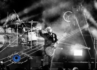 Shinedown performing at Pointfest in Saint Louis Saturday. Photo by Sean Derrick/Thyrd Eye Photography.