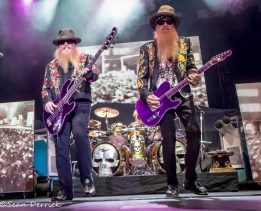 ZZ Top performing in 2013 in St. Louis. Photo by Sean Derrick/Thyrd Eye Photography.