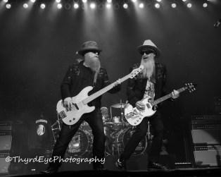 ZZ Top performing in Saint Louis. Photo by Sean Derrick/Thyrd Eye Photography.