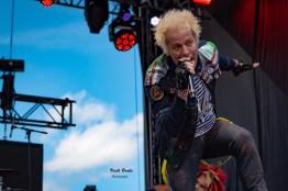 Powerman 5000 performing at Rockfest in Kansas City. Photo by Keith Brake Photography.