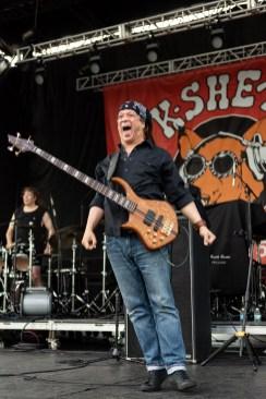 Rick Derringer performs at the KSHE 95 Pig Roast Saturday. Photo by Keith Brake Photography.