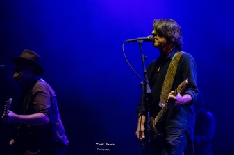 Drive By Truckers performing at the Fabulous Fox Theatre. Photo by Keith Brake Photography.