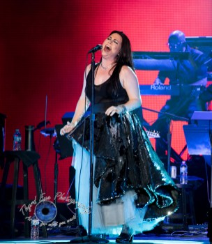 Evanescence performing in Saint Louis Saturday. Photo by Sean Derrick/Thyrd Eye Photography.