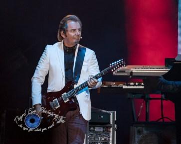 Journey performing Friday night at Busch Stadium. Photo by Sean Derrick/Thyrd Eye Photography.