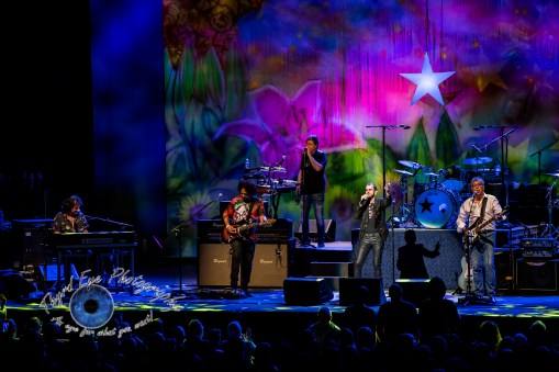 Ringo Starr and his All-Starr Band performing at the Fabulous Fox Theatre in Saint Louis Friday. Photo by Sean Derrick/Thyrd Eye Photography.