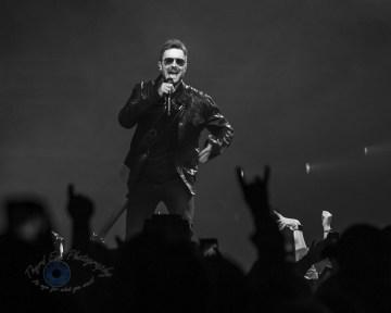 Eric Church performing at Enterprise Center in Saint Louis Friday. Photo by Sean Derrick/Thyrd Eye Photography.
