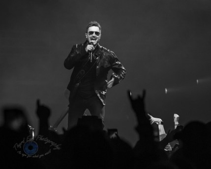 Eric Church performing at Enterprise Center in Saint Louis Friday. Photo by Sean Derrick/Thyrd Eye Photography.