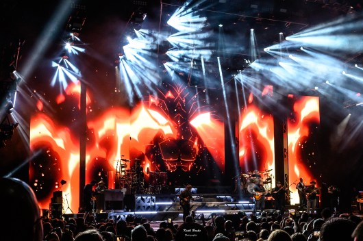Zac Brown Band at the Hollywood Casino Amphitheatre. Photo by Keith Brake.