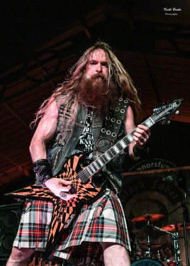 Zakk Wylde and Black Label Society. Photo by Keith Brake.