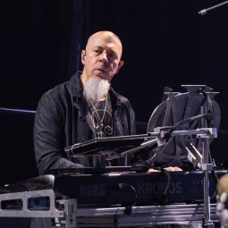 Jordan Rudess during Dream Theater's performance Wednesday at Stifel Theater in Saint Louis. Photo by Sean Derrick/Thyrd Eye Photography.