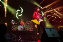 Halestorm performing in Saint Charles, MO. Photo by Sean Derrick/Thyrd Eye Photography.
