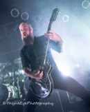 In Flames performing in Sauget. Photo by Sean Derrick/Thyrd Eye Photography.