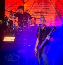 Staind performing at Hollywood Casino Amphitheatre Sunday. Photo by Sean Derrick/Thyrd Eye Photography.