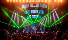 Korn performing at Hollywood Casino Amphitheatre Sunday. Photo by Sean Derrick/Thyrd Eye Photography.