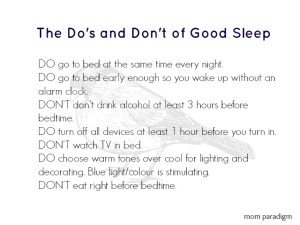 UPDATED! The Do's and Don't of Good Sleep and Sleep Apnea